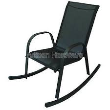 Stackable Sling Chairs Taiwan Steel Sontera Stackable Sling Rocking Chair Other Outdoor