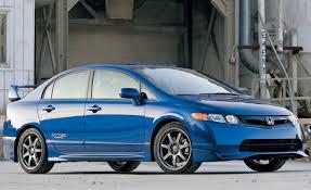 2008 honda civic mugen si sedan short take road test reviews