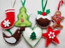 baby safe tree felt decorations forchristmas