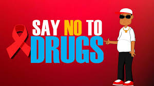 cartoon no alcohol say no to drugs cartoons for kids red ribbon week educational