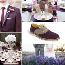 Purple And Silver Wedding Eggplant And Silver Wedding Inspiration By Linentablecloth
