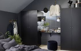 bedroom ikea ikea pax wardrobe with a black brown frame and