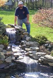 Backyard Waterfall Ideas Garden Ponds With Waterfalls U2013 Satuska Co