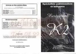 cuisine montelimar restaurant k2 restaurant carte et menus