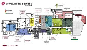 lommasson center map business services university of montana