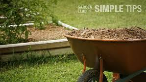give your garden a fall facelift mulch now garden club