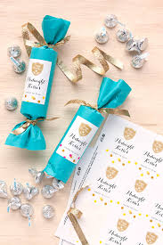 party favor labels new year s party favors midnight kisses gift favor ideas