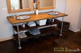 Plumbing Bathroom Vanity Tutorial Killer B Designs