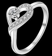 girls rings beautiful images 925 sterling silver heart rings for women crystal love rings jpg