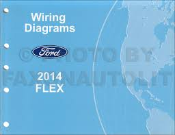 2014 ford flex wiring diagram manual original