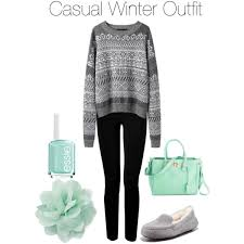 polyvore casual casual winter polyvore