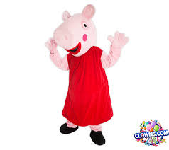 clowns for birthday in ny peppa pig character for kids party ny birthday party characters