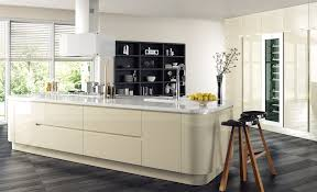 design your own kitchen the kitchen depot fitted kitchens modern contemporary sienna gloss light ivory kitchen