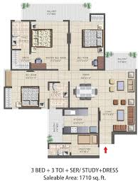 3 bhk apartment floor plan nirala aspire 3bhk apartments floor plan real estate noida