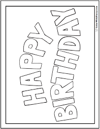 coloring birthday card printable birthday card coloring pages 28 images enjoy teaching birthday
