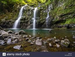 Stunningly by The Stunningly Beautiful Upper Waikani Falls Or Three Bears Found