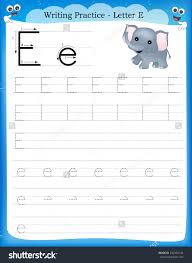 printable printable tracing letter e worksheets