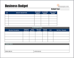 templates for business budgets sle business budget month budget template month sales forecast