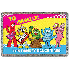 Yo Gabba Gabba Images by Personalized Yo Gabba Gabba Group Pillowcase Walmart Com