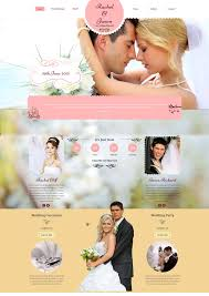 the best wedding websites 15 best wedding website design templates