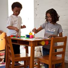 lipper childrens table and chair set lipper childrens rectangular table and chair set hayneedle