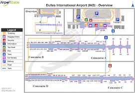 Iah Map Washington Washington Dulles International Iad Airport