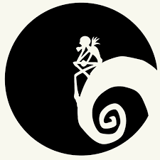 nightmare before christmas nightmare before christmas moon car sticker for truck window