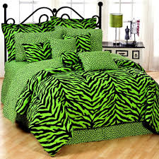 Green And Brown Bedroom Decor by Girls Bedroom Captivating Green Zebra Bedroom Decoration