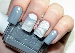 grey and white nail art images nail art designs
