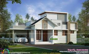 u20b924 lakhs cost estimated one floor house kerala home design
