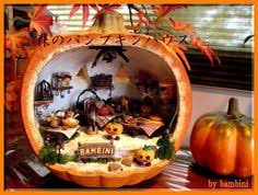 garden in a pumpkin pumpkin garden handcrafted by