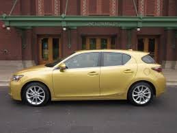 lexus yellow 2011 lexus ct 200h hybrid review pure fun to drive video enhanced