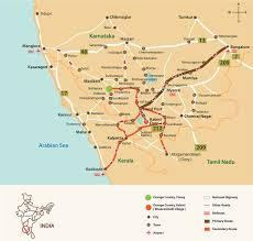 Distance Map Route Map Kabini