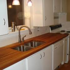 Decor  Tips Awesome White Kitchen Cabinet With Butcher Block - Butcher block backsplash