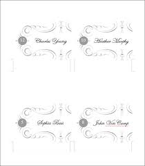 printable place cards place card template free premium templates