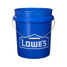 shop encore plastics 5 gallon commercial bucket at lowes com