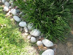 edging flower beds with rocks bedding bed linen