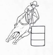 fox racing coloring pages rodeo coloring pages free printables cowboys and cowgirls