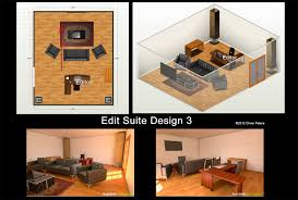 How To Build A Home Studio Desk by Edit Suite Floor Plans Digitalfilms