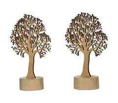 acmura wooden trees handcrafted by artisans of varanasi small se