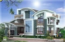 simple unique mix luxury home design kerala home design