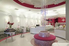 nail room idea the using drapes for privacy thing is so appealing
