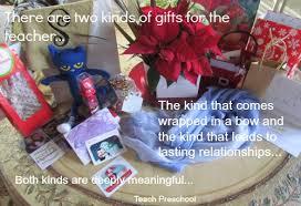 a gift for the teacher teach preschool