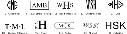 letter monogram monogram guide pottery barn