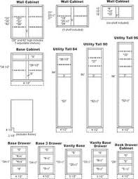 Kitchen Cabinet Sizes Chart The Standard Height Of Many Kitchen - Standard kitchen cabinet