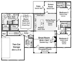 colonial style house plan 3 beds 3 00 baths 1818 sq ft plan 21 187