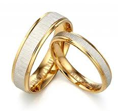 wedding rings uk gemini his or 18k yellow gold filled anniversary wedding ring