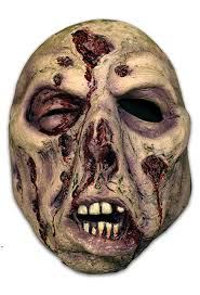 bruce spaulding fuller zombie 2 face mask halloween mask trick