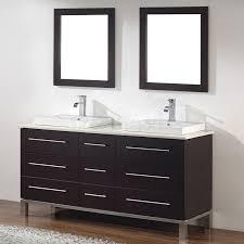 Contemporary Bathroom Vanity Art Bathe Ginza 63 Inch Contemporary Bathroom Vanity Espresso Finish