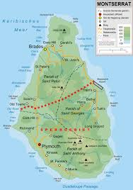 Michigan Topographic Maps by Large Detailed Topographic Map Of Montserrat Island With Roads